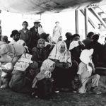 Etter at Israel ble opprettet, ble hundretusenvis av jøder jaget ut av den arabiske verden. Bildet viser jødiske flyktninger fra Jemen i 1949.