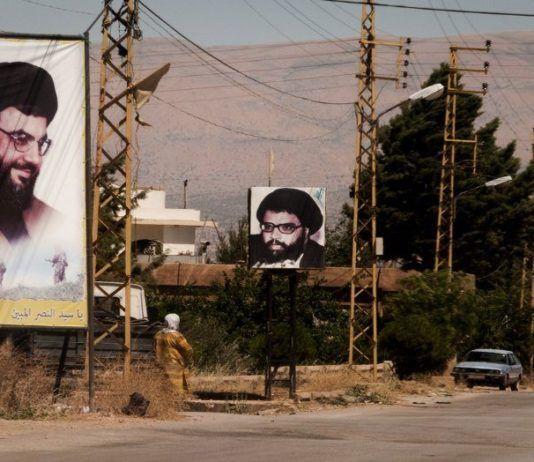 Plakater av Hizbollah-leder Hassan Nasralla i Libanon. (Foto: Will De Freitas, flickr.com)