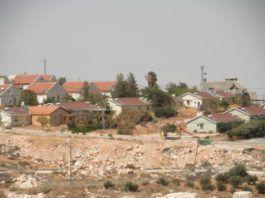 Bosættelsen Ma´ala Amos på Vestbredden. (illustration: myhartinpalestinell, flickr.com)