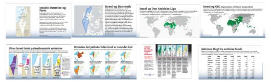 Grundlæggende fakta - kort fortalt. 7 landekort og 1 tabel.