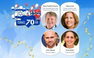 Hovedtalere til #Israel70 fest