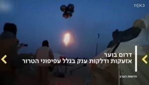 Heliumballoner fragter brandbomber