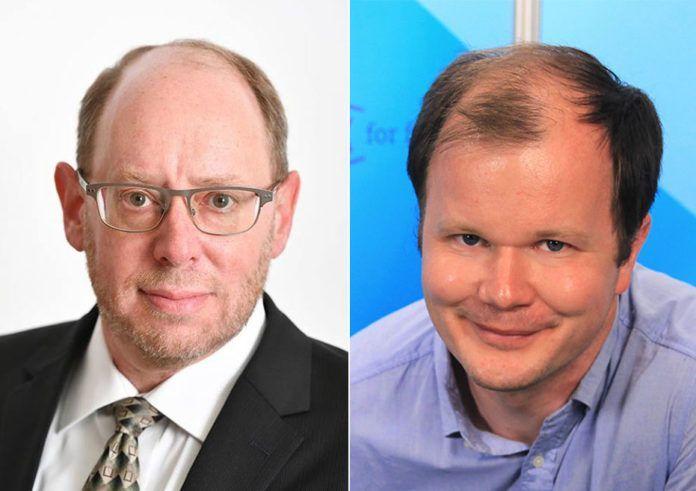 David M. Weinberg og Conrad Myrland