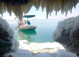 Udforskning af Det Døde Hav (økoturisme - Dead Sea Revival Project)