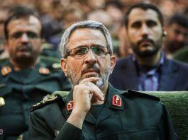 Den iranske islamiske Revolutionsgardes general Gholamhossein Gheybparvar.