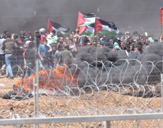 I de seneste uger er opstande langs Gaza-grænsen blevet mere ekstreme og voldelige. (Foto: IDF Talsmand)