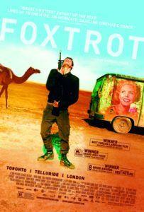 """Israelsk film """"Foxtrot"""" (plakat)"""