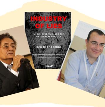 Ben-Dror Yemini (MIFF); Carlos Tapiero (www.maccabia.com)