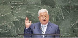 I dagene forud for Det Palæstinensiske Selvstyres præsident, Mahmoud Abbas' tale til FN's Generalforsamling den 27. september gennemførte hans sikkerhedsstyrker et massivt indgreb imod hans kritikere og modstandere på Vestbredden og arresterede mere end 100 palæstinensere. (UN Photo/Cia Pak)
