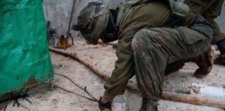 Israelske soldater i gang med at ødelægge den tredje Hezbollah tunnel fra Libanon til Israel den 11. december 2018 (kilde: IDF Talsmænd - Spokesperson's Unit)