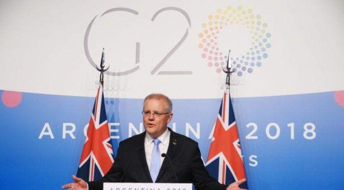 Den australske statsministeren Scott Morrison vil anerkende Jerusalem som Israels hovedstad. (Foto: Facebook)