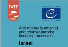 Forside af FATF rapport om Israel December 2018