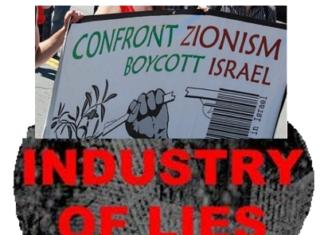 BDS har rødder i Løgneindustrien mod Israel