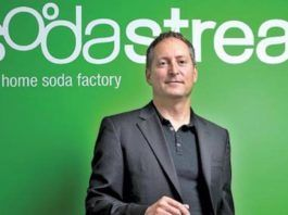 Daniel Birnbaum siger, at Sodastream pklanlægger at åbne en fabrik på Gazastriben (Foto: Sodastream)