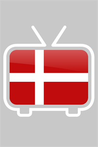 """Dansk TV Guide"" logo fra Jimmi Bendstsons app"