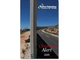 Kairos Palestine Christmas Alert 2018 (facsimile af forsiden)