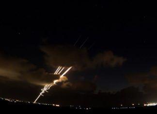 Raketangreb fra Gazastriben mod det sydlige Israel (arkivfoto: IDF)