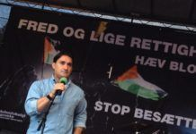 Fatih El-Abed, leder for Dansdk Palæstinensisk Venskabeforening. (Foto: Privat/Facebook)