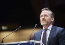 Anders Samuelsen (foto: Council of Europe Parliamentary Assembly, April 2018, på Flickr)