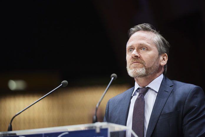 Anders Samuelsen (foto: Council of Europe Parliamentary Assembly, April 2018, på Flickr)