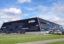 """""""Boxen"""" i Herning ... hvor den danske Melodi Grand Prix-finalen afholdes lørdag aften den 23. februar. (Foto : Lis í Jákupsstovu, flickr.com))"""