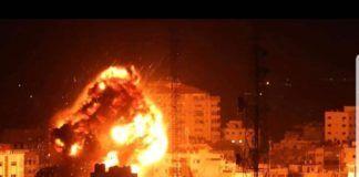 Eksplosioner. (IDF billede)