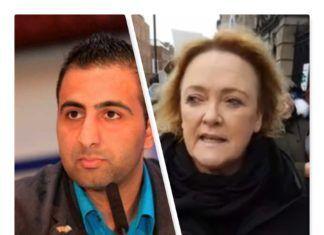 Kasim Hafeez; Jackie Goodall (foto-collage fra private og Facebook billeder)