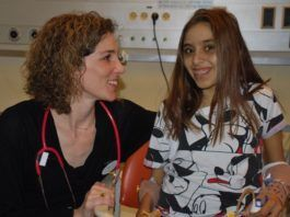 Hila Amram fik en dobbel-transplation. Foto: Schneider Hostpital talsmand.