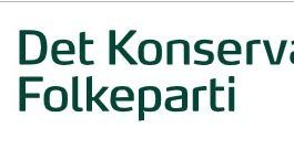 Det Konservative Folkeparti (logo - public domain)