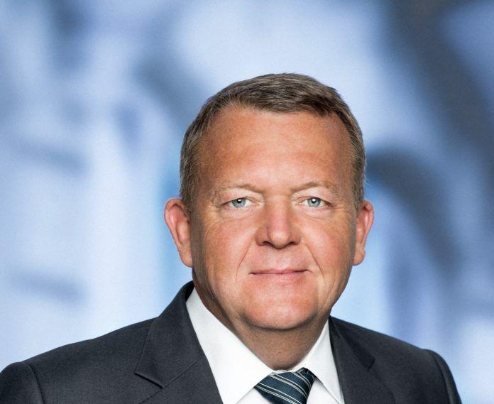 Venstres formand, Lars Løkke Rasmussen (pressefoto)