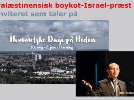 Jan Frosts montage: Indbydelse til Himmelske Dage - Mitri Raheb