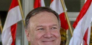 Secretary of State US (Udenrigsminister) Mike Pompeo (januar 2019; public domain)